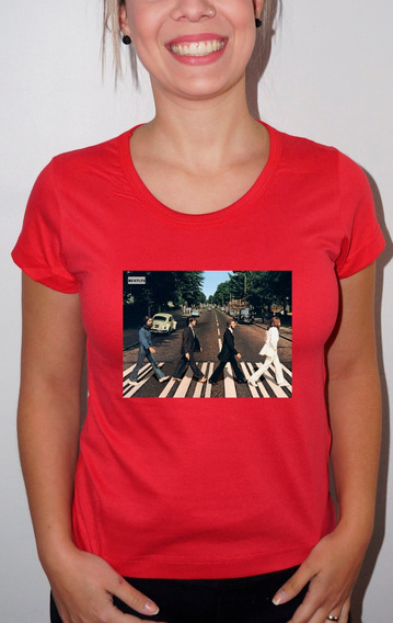 Baby Look Ou Camiseta The Beatles