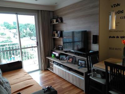 Apartamento Em Jaguaré, São Paulo/sp De 65m² 2 Quartos À Venda Por R$ 455.000,00 - Ap59598