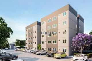 Apartamento Com 2 Dormitórios À Venda, 44 M² Por R$ 124.990,00 - Centro - Caucaia/ce - Ap0852