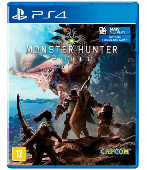 Monster Hunter Ps4 Original Digital Psn