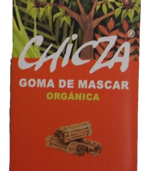 Chicle Chicza Canela 15g 100% Orgánico, Biodegradable Natura