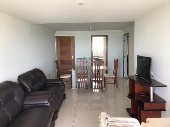 Apartamento Em Praia Do Morro, Guarapari/es De 80m² 3 Quartos Para Locação R$ 500,00/dia - Ap614098
