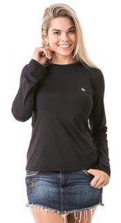 Camisa Feminina Com Proteção Solar Extreme Uv Line Ice Upf50
