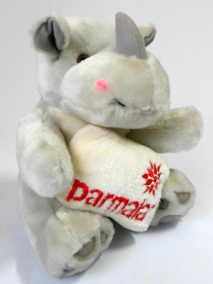 Coleção Mamíferos De Pelúcia Parmalat - Rinoceronte