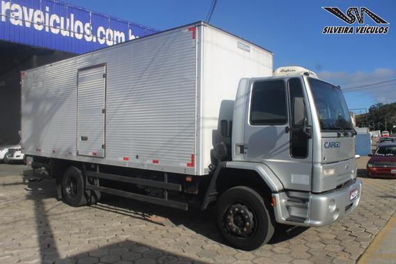 Ford Cargo 1517 - Ano: 2006 - Baú Com Plataforma