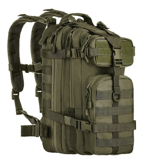 Mochila Tática Militar Assault Molle Trilha Airsoft Camping