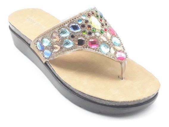 Sandalias Dama Huarache Calzado Zapato Casual Chancla Mo1767