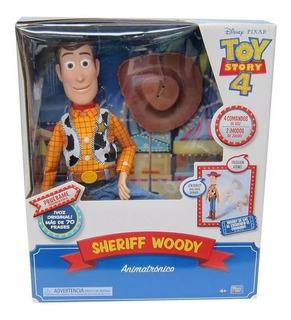 Toy Story 4 Woody Interactivo Cae Y Habla - Sharif Express