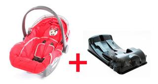 Butaca Huevito Bebe Disney + Base Para Auto Babymovil