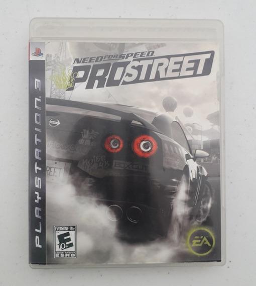 Jogo Need For Speed Pro Street - Ps3 - Mídia Física - Play 3