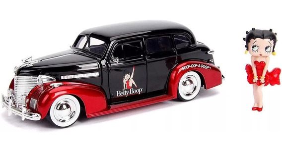 Carro Miniatura Betty Boop Chevy Master Deluxe Escala 1/24