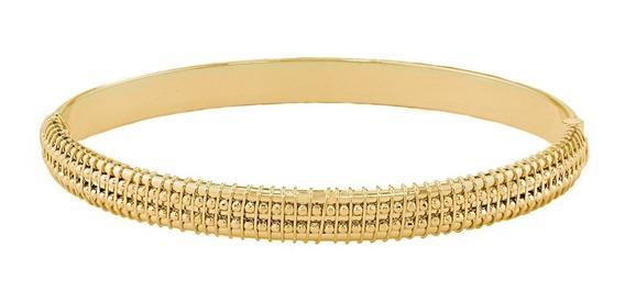 Bracelete Com Bolinhas - Folheado A Ouro