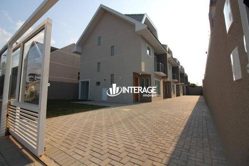 Sobrado Com 3 Dormitórios À Venda, 136 M² Por R$ 591.000,00 - Santa Felicidade - Curitiba/pr - So0253