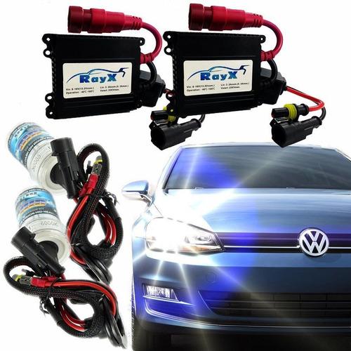 Kit Xenon 6000k 8000k H1 H3 H4-2 H7 H8 H11 Hb4 Reator Slim