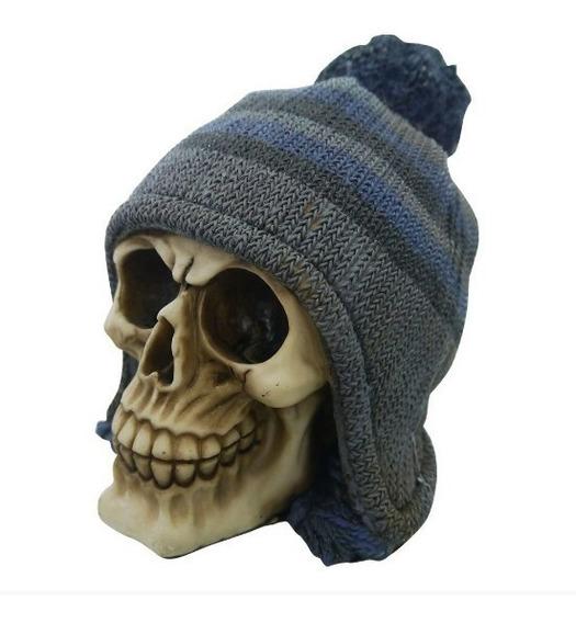 Cranio Caveira Decoração Em Resina Varios Modelos