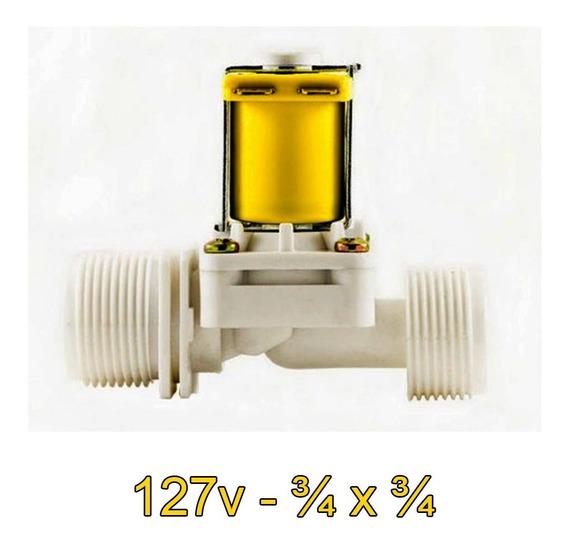 Válvula Solenoide 127v 180° (3/4 X 3/4) Va 04 Arduino Esp Pi