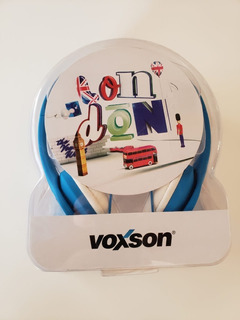 Auricular Voxson London Blue Azul Liquidacion 60 Off