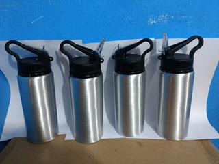Squeeze Aluminio 600ml Para Sublimação Com 10pecas
