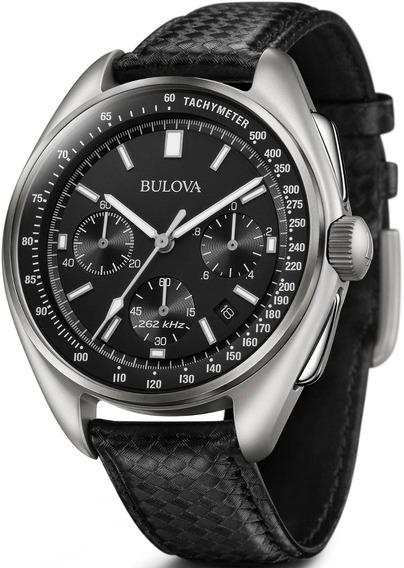 Relógio Bulova Masculino Precisionist 96b251 *moon Watch *ap