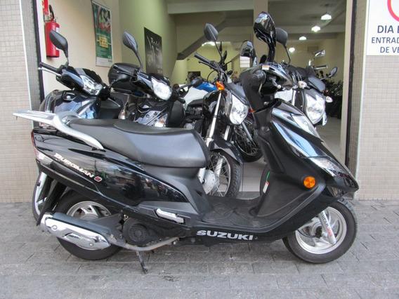 Suzuki Burgman 125i 2016 Preta