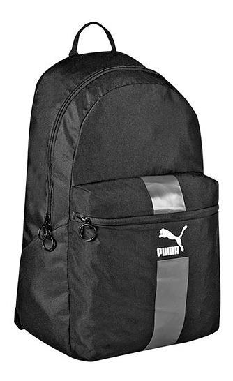 Mochila Puma Originals Daypack 076012-01 Negro Unisex Pv