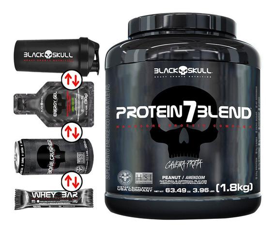 Protein 7 Blend Caveira Preta (1.8kg) - Black Skull