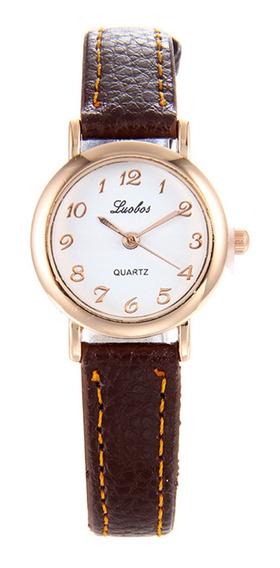 Mujeres Niñas Reloj Electrónico Moda Reloj De Pulsera Simp