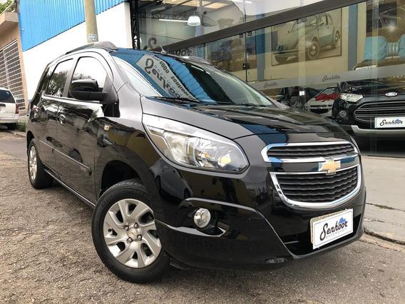 Chevrolet Spin Ltz 7l Automática Completa Preta - 2013