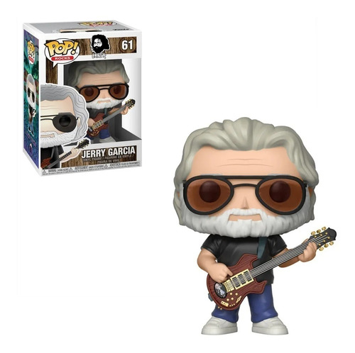 Figura Funko Pop Jerry Garcia 61. Original  Educando