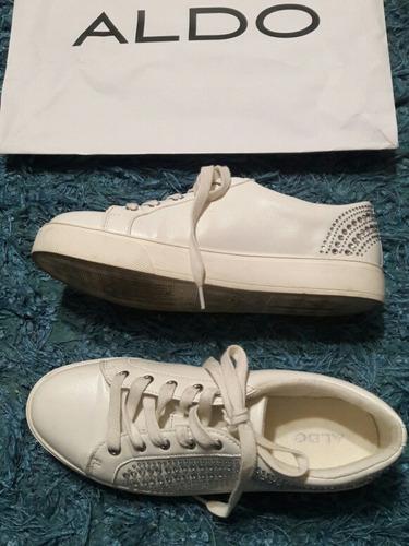 33d0ffbc Zapatillas Blancas Marca Aldo - Vestuario y Calzado en Mercado Libre ...