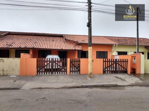 Casa Com 3 Dormitórios À Venda Por R$ 200.000,00 - Cibratel Ii - Itanhaém/sp - Ca1199