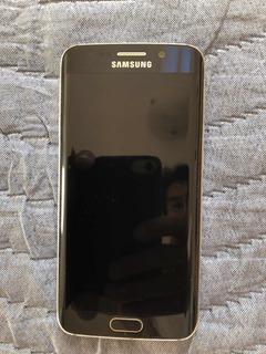 Teléfono Samsung 6 Edge Color Azul Marino