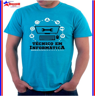 Camisa Camiseta Curso Técnico Informática Computação Hardwar