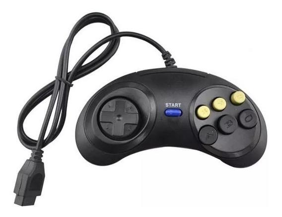 Controle Fighting Putt 6b Pg Mega Drive Wonder Deluxe Driv