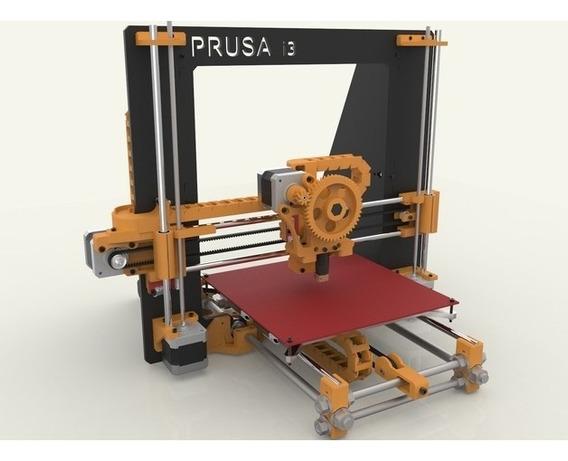 Projeto Impressora3d Prusa I3 Frame+videos+manuais+software