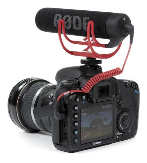 Microfone Shotgun Rode Videomic Go Com Rycote Lyre Original
