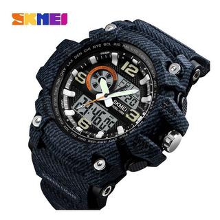 Reloj Skmei Camuflado Sumergible Deportivo Cronometro 1283
