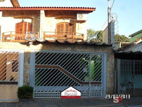 Imagem 1 de 15 de Sobrado Na Vila Santa Maria 3 Dormitórios 2 Vagas! - 10194-1