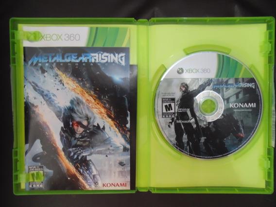Jogo Xbox 360 - Metal Gear Rising Fisica Praticamente Nova!