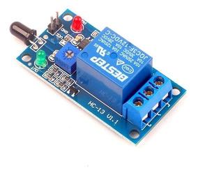 Módulo Relé Sensor De Chama Fogo 12v Arduino Automação