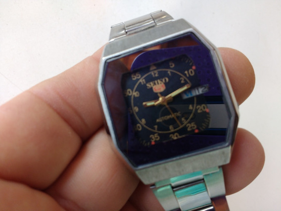 Relógio Seiko 5 Automático Perfeito Parece Novo Revisado D