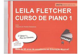 Leila Fletcher Curso Piano Vol1 Livro Método Partitura