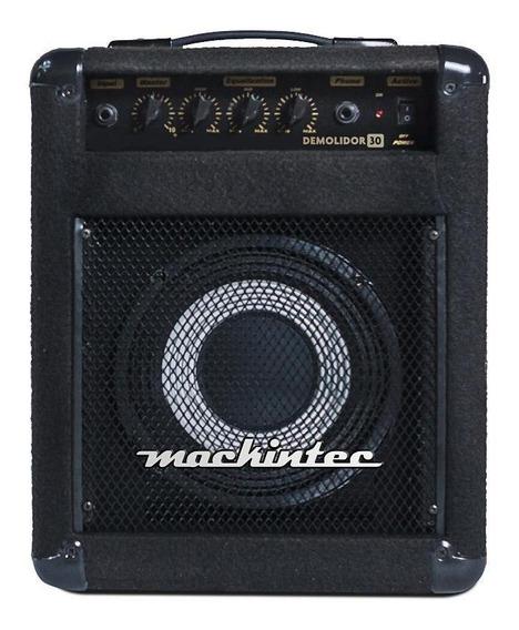 Amplificador Mackintec Demolidor 30 30W preto 220V/110V (Bivolt)
