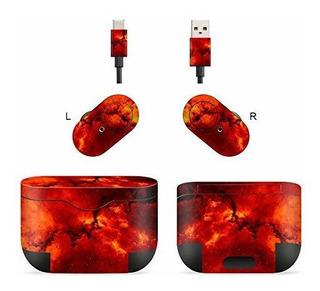 Adhesivo De Auriculares Bluetooth Inalambricos Masibloom Par