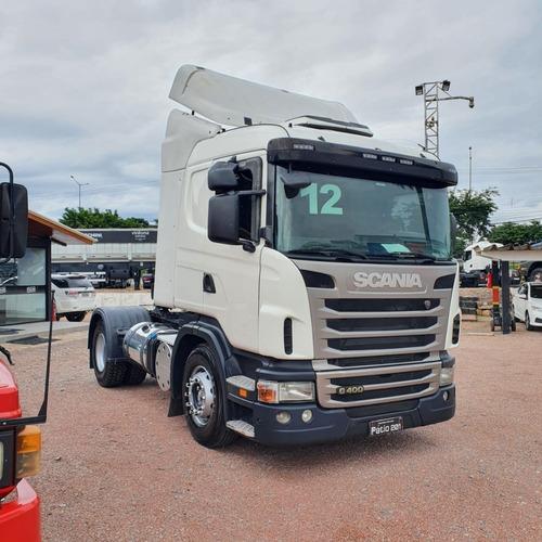 Caminhão Scania G 400 Toco 4x2 2012 C/ Rs No Documento G400