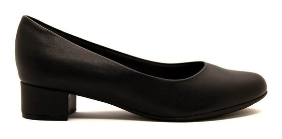 Zapatos Clásicos Mujer Piccadilly Cuero Ecológico Negro Taco 4cm