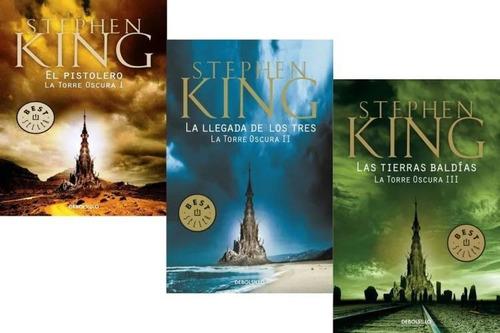 Imagen 1 de 5 de Pack La Torre Oscura 1 + 2 + 3 ( 3 Libros ) - Stephen King