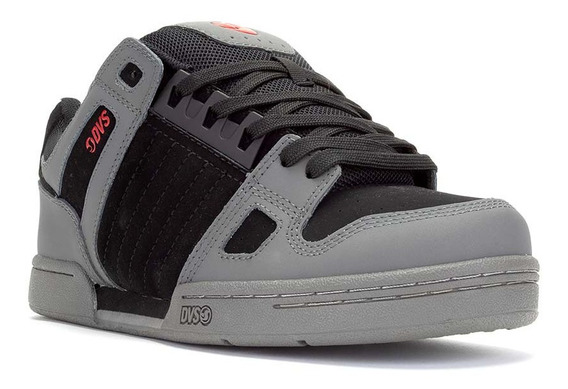 Dvs Celsius 039 Black Charcoal Red Nubuck