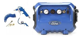 Compresor De Aire Compacto 6 Litros + Kit De Aire Ford