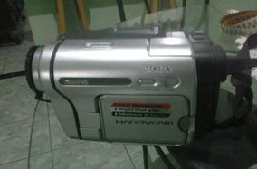Filmadora Sony Handycam Hi8 Carregador E Bolsa P/ Transporte